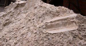 песок для фундамента