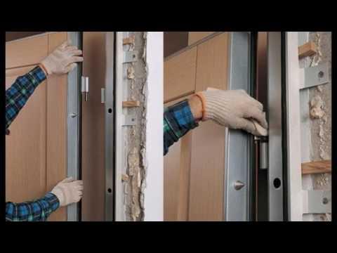 Самостоятельная установка металлопластиковой двери