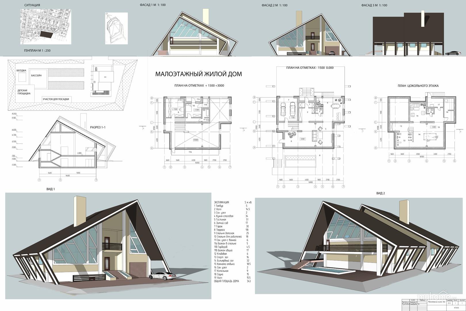 конструкции жилых домов