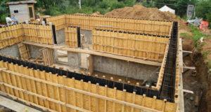 Технология возведения стен из монолитного бетона
