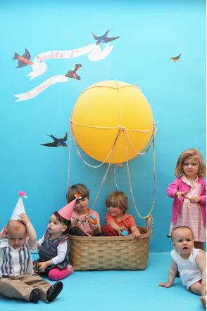 Детский праздник с воздушным шаром