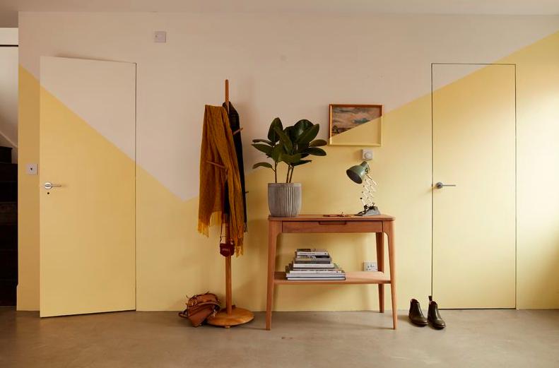 Двухцветный коридор