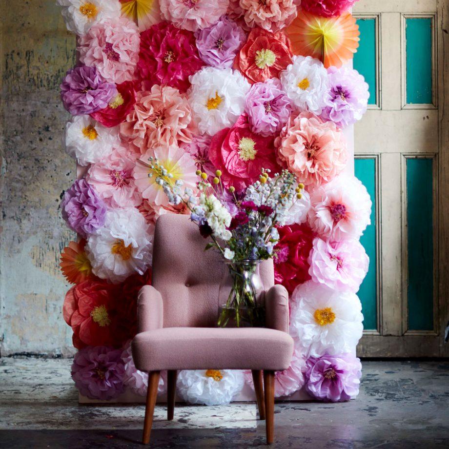 Фон из цветов