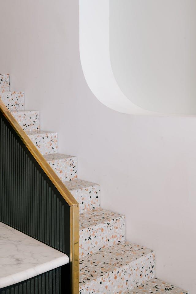 Модные элементы дизайна в 2018 году Тераццо