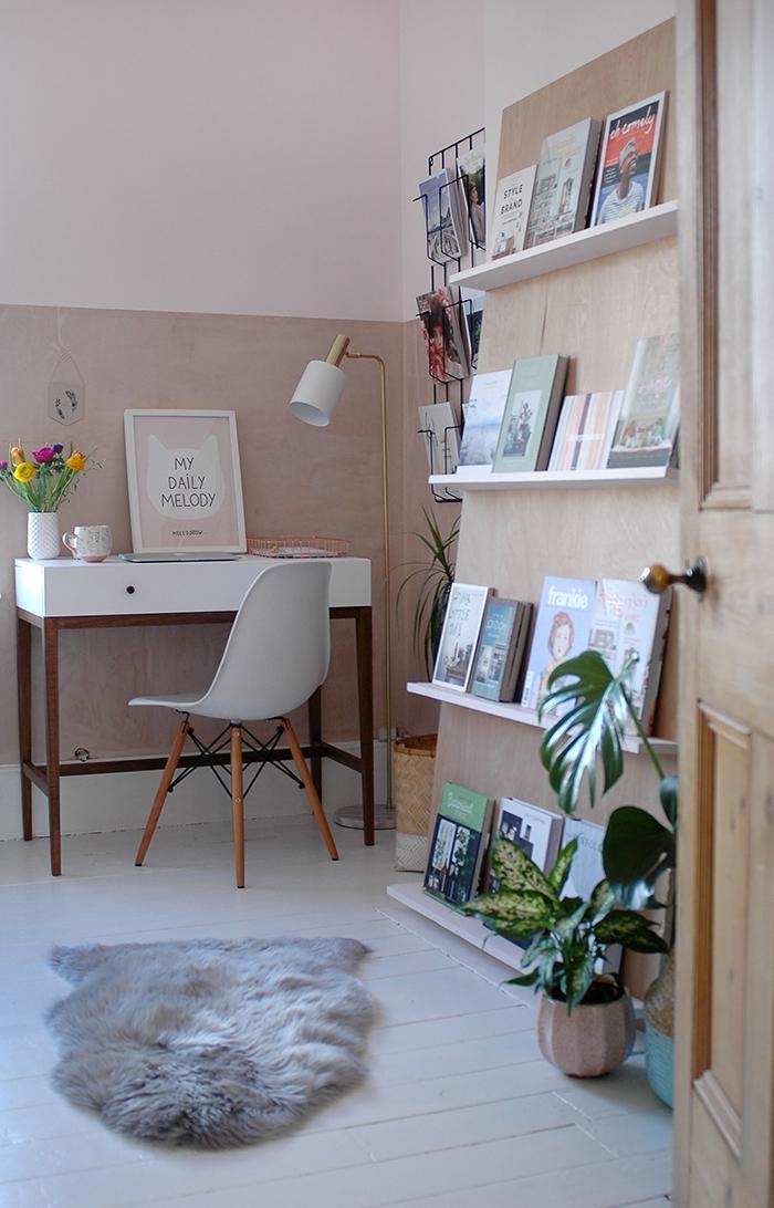 Оттенки розового цвета в квартире