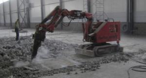 Строительные работы по демонтажу
