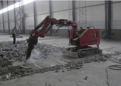 Дмонтаже бетона