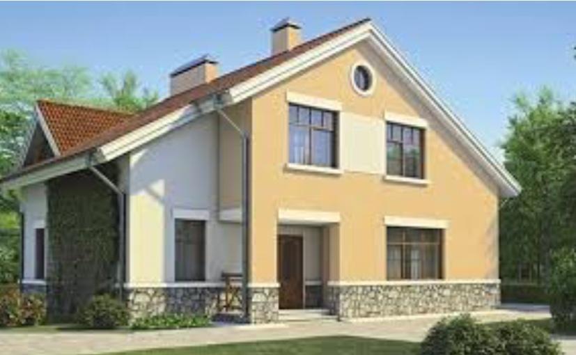 Частный дом из жби изделий