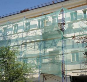 Затеняющая фасадная сетка