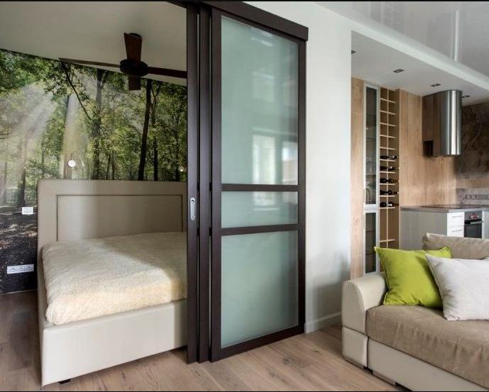 Дверь купе для маленькой квартиры