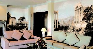 подготовка поверхности стены к фреске