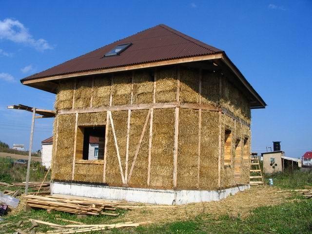 Как обложить саманный дом кирпичом