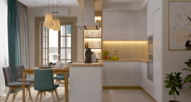 Кухня в экологическом стиле